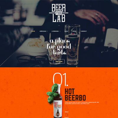 Beer Food Lab